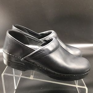 Dansko Leather Clogs 9